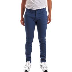 vaatteet Miehet Chino-housut / Porkkanahousut Gaudi 911BU25007 Sininen