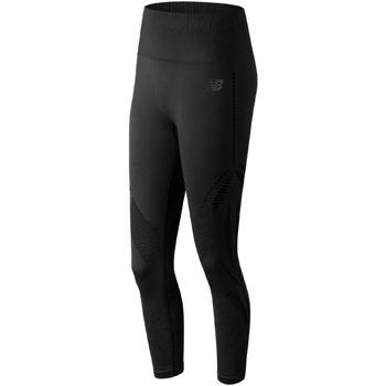vaatteet Naiset Legginsit New Balance NBWP91129BK Musta