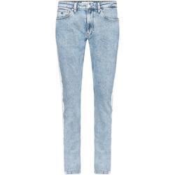 vaatteet Miehet Slim-farkut Calvin Klein Jeans J30J315269 Sininen