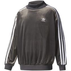 vaatteet Lapset Svetari adidas Originals BQ3932 Musta