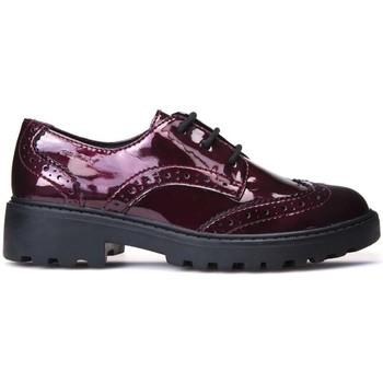 kengät Lapset Derby-kengät Geox J6420K 000HI Punainen