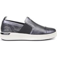 kengät Lapset Tennarit Geox J741ZE 0NFAR Harmaa