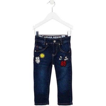 vaatteet Lapset Slim-farkut Losan 725 9006AC Sininen