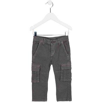 vaatteet Lapset Reisitaskuhousut Losan 725 9011AC Vihreä
