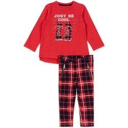 vaatteet Tytöt Kokonaisuus Losan 726 8013AD Punainen