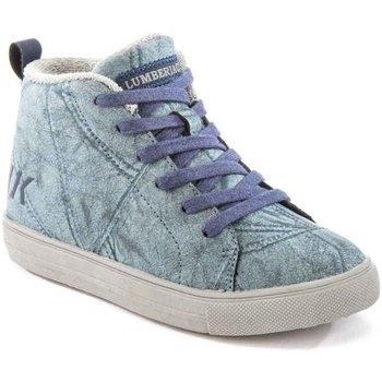 kengät Lapset Korkeavartiset tennarit Lumberjack SB32705 003 M64 Sininen
