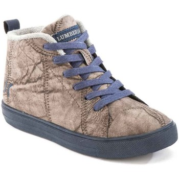 kengät Lapset Korkeavartiset tennarit Lumberjack SB32705 003 M64 Ruskea