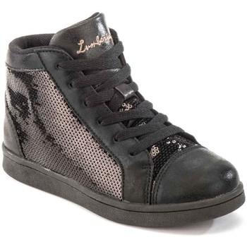 kengät Lapset Korkeavartiset tennarit Lumberjack SG32805 003 P79 Musta