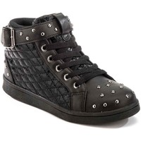 kengät Lapset Korkeavartiset tennarit Lumberjack SG32805 002 P78 Musta