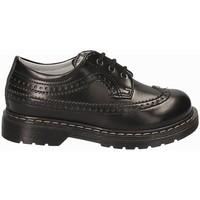kengät Lapset Derby-kengät NeroGiardini A724440M Musta