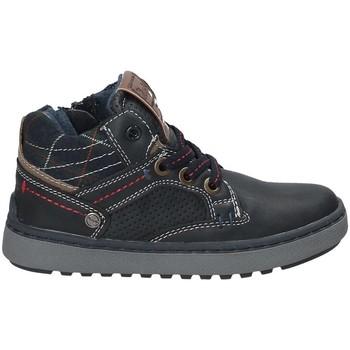kengät Lapset Korkeavartiset tennarit Wrangler WJ17220 Sininen