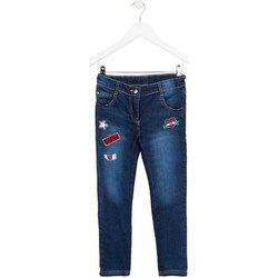 vaatteet Lapset Slim-farkut Losan 723 9000AA Sininen