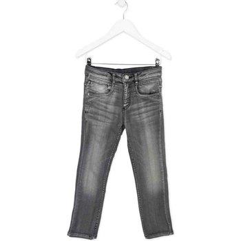 vaatteet Lapset Slim-farkut Losan 723 6012AA Harmaa