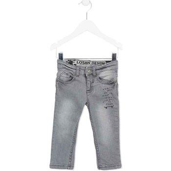 vaatteet Lapset Slim-farkut Losan 725 9004AC Harmaa