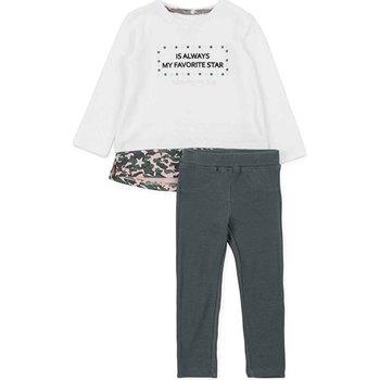 vaatteet Tytöt Kokonaisuus Losan 726 8036AD Valkoinen