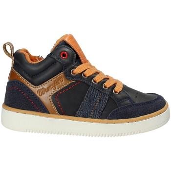 kengät Lapset Korkeavartiset tennarit Wrangler WJ17227 Sininen