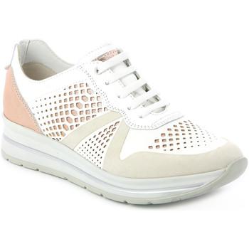 kengät Naiset Matalavartiset tennarit Grunland SC4477 Valkoinen