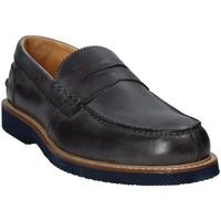 kengät Miehet Mokkasiinit Exton 9102 Harmaa