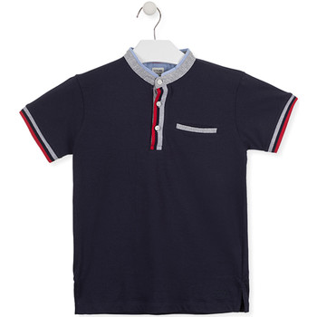 vaatteet Lapset Lyhythihainen poolopaita Losan 015-1791AL Sininen
