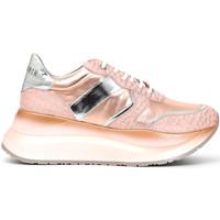 kengät Naiset Matalavartiset tennarit Café Noir DC801 Vaaleanpunainen