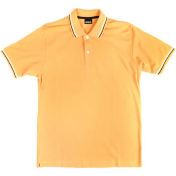 vaatteet Miehet Lyhythihainen poolopaita Key Up 2Q70G 0001 Keltainen
