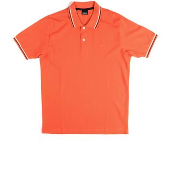 vaatteet Miehet Lyhythihainen poolopaita Key Up 2Q70G 0001 Oranssi