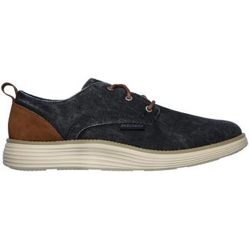kengät Miehet Matalavartiset tennarit Skechers 65910 Sininen