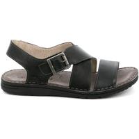 kengät Miehet Sandaalit ja avokkaat Grunland SA1853 Musta