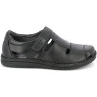 kengät Miehet Sandaalit ja avokkaat Grunland SA1515 Musta