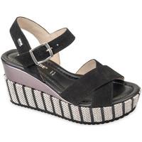 kengät Naiset Sandaalit ja avokkaat Valleverde 32435 Musta