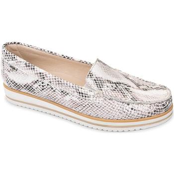 kengät Naiset Mokkasiinit Valleverde 11108 Beige