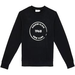 vaatteet Miehet Svetari Calvin Klein Jeans K10K104548 Musta