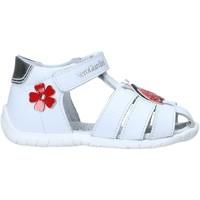 kengät Lapset Sandaalit ja avokkaat NeroGiardini E018090F Valkoinen
