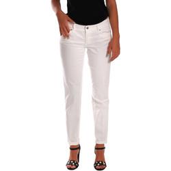 vaatteet Naiset Slim-farkut Gas 355661 Valkoinen