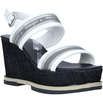 kengät Naiset Sandaalit ja avokkaat Wrangler WL01553A Valkoinen