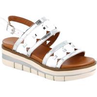 kengät Naiset Sandaalit ja avokkaat Grunland SA2541 Valkoinen