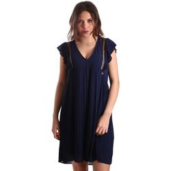 vaatteet Naiset Lyhyt mekko Gaudi 911BD15020 Sininen
