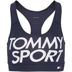 vaatteet Naiset Urheiluliivit Tommy Hilfiger S10S100070 Sininen
