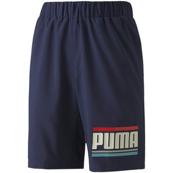 vaatteet Lapset Shortsit / Bermuda-shortsit Puma 584184 Sininen