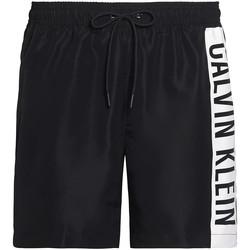 vaatteet Miehet Uima-asut / Uimashortsit Calvin Klein Jeans KM0KM00437 Musta