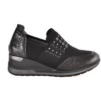 kengät Naiset Tennarit Melluso R25510 Musta