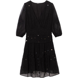 vaatteet Naiset Lyhyt mekko Desigual 19WWVW32 Musta