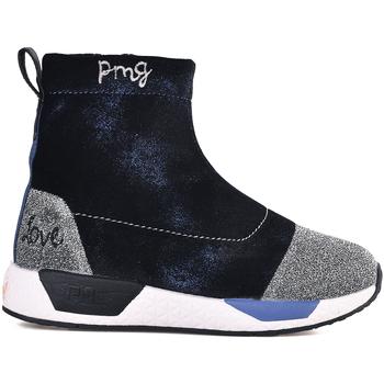 kengät Lapset Korkeavartiset tennarit Primigi 2453122 Sininen