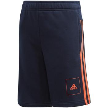 vaatteet Lapset Shortsit / Bermuda-shortsit adidas Originals FL2815 Sininen