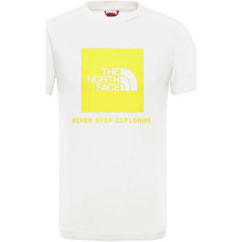 vaatteet Lapset Lyhythihainen t-paita The North Face NF0A3BS2P801 Valkoinen