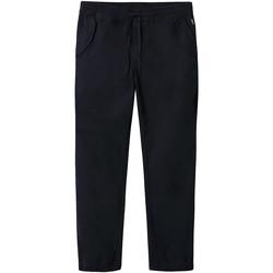 vaatteet Miehet Chino-housut / Porkkanahousut Napapijri NP0A4E2Y Sininen