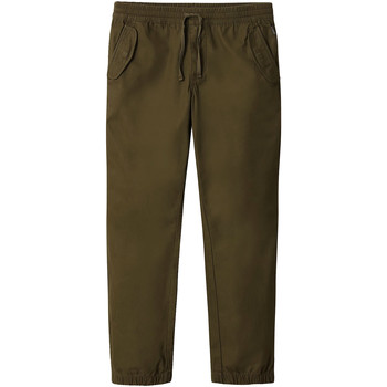 vaatteet Miehet Chino-housut / Porkkanahousut Napapijri NP0A4E2Y Vihreä