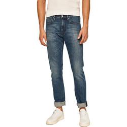 vaatteet Miehet Suorat farkut Calvin Klein Jeans K10K105468 Sininen
