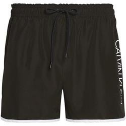 vaatteet Miehet Uima-asut / Uimashortsit Calvin Klein Jeans KM0KM00439 Musta
