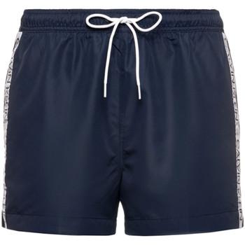 vaatteet Miehet Shortsit / Bermuda-shortsit Calvin Klein Jeans KM0KM00457 Sininen
